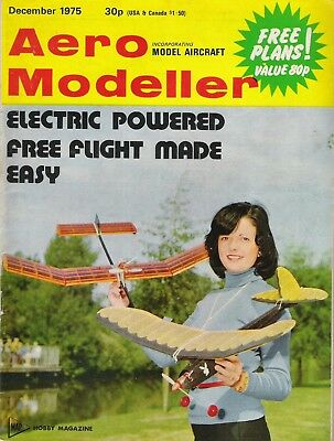 Aero Modeller Magazine. Volume XL, No. 479, December, 1975. Martin Baker MB-5.