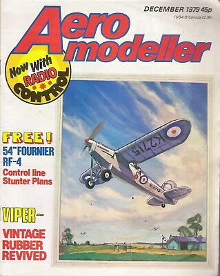 Aero Modeller Magazine. Volume XLIV, No. 527, December, 1979. Fournier RF-4.