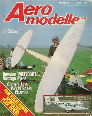 Aero Modeller Magazine. Volume 47, No. 563, December, 1982. Krumpler Corsair.