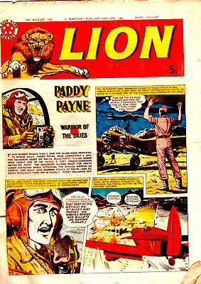 Lion comic 25th August 1962