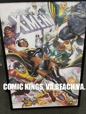 UNCANNY X-MEN POSTER by ALEX ROSS  24x36 BRAND NEW ROLLED IN TUBE COMIC KINGS