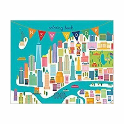 Livre Neuf - New York coloring book (mini edition)