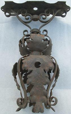 Haunted Castle Warden c1887 St Augustine  Wrought iron Moorish revival gas lamp