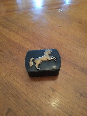 Hickok HORSE with painted gold horse Made in USA