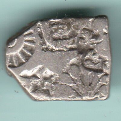 Ancient India  Saurasthra Punchmark  Silver  Rarest Coin