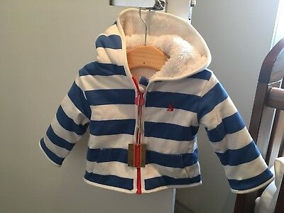 Joules New Baby Boys Reversable Jacket 0-3 Months