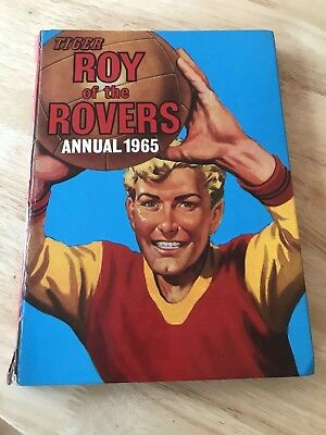 """""""LOOK"""" Roy Of The Rovers Annual 1965 (TIGER)"""