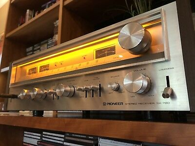 Pioneer SX-780 Vintage AM/FM Stereo Receiver - Serviced, Cleaned & Excellent!