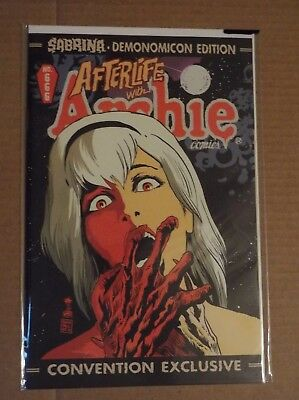 AFTERLIFE WITH ARCHIE #666 Sabrina Demonomicon Edition - CHILLING Adv TV SHOW!