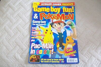 Gameboy Fun And Pokemon Magazine, From Ultimate Gamer - 2000 Issue 4