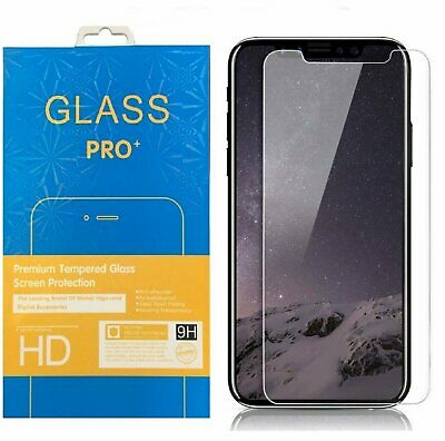 Crystal Clear Tempered Glass Screen Protector for iPhone Xs / Xs Max / XR