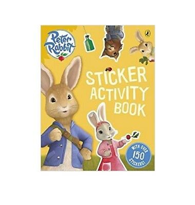 Peter Rabbit Sticker Activity Book with over 150 stickers