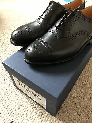 TRICKERS SHOES (JERMYN st) - BLACK CITY OXFORDS - 8.5 - BRAND NEW ... 5735100e50c
