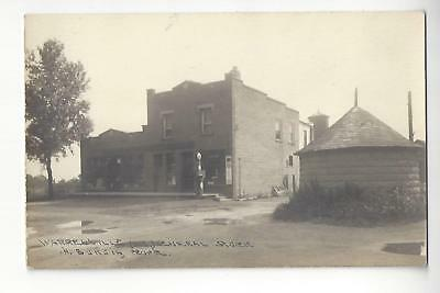 Warrenville, Illinois, General Store, H.Burgin, Proprietor RPPC