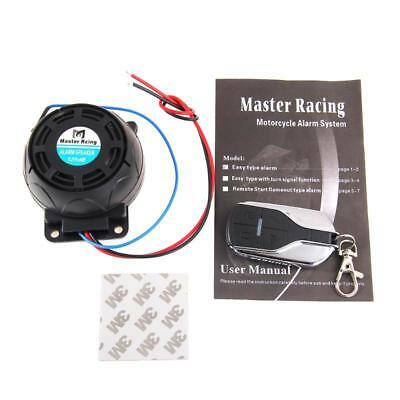Motorcycle Alarm System Remote Sirena Anti Theft Security