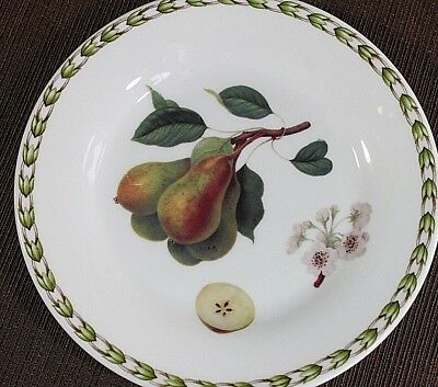 "QUEEN'S Hooker's Fruit PEAR Royal Horticultural Society 6"" Dessert Bread PLATE"
