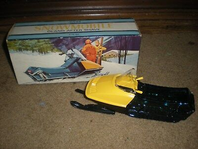 Avon decanter vintage Snowmobile full Oland After Shave