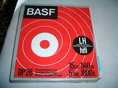 Tonband BASF DP26 Doppelspielband 15cm/540m-5 3/4in./1800ft