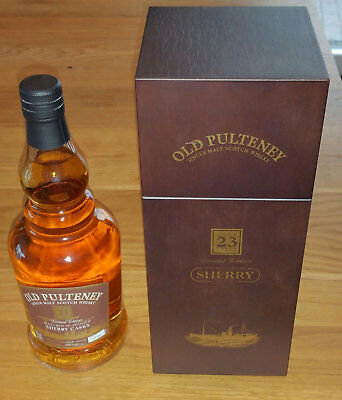 Old Pulteney 23 Jahre Sherry Cask