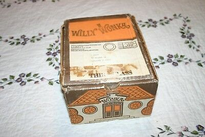 Vintage 1970s Mail Away Willy Wonka Chocolate Candy Factory Kit