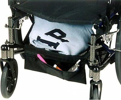 "Underseat Storage Bag/Cargo Shelf for Wheelchairs & Scooters - Size: 15""W x 16""D"