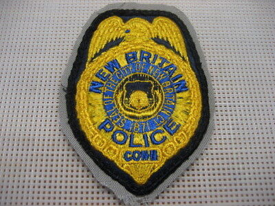 .US Police Patch NEW BRITAIN CT,vintage