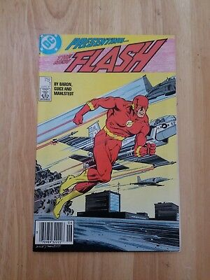 The Flash #1 (1987, DC) NM/VF Vol 2 Wally West Mike Baron Jackson Guice