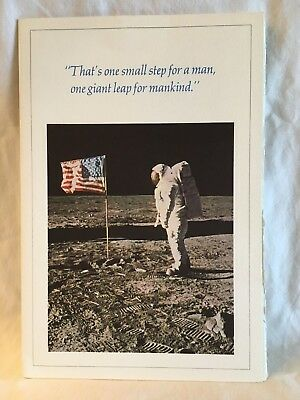 OFFICIAL Government Memorabilia of Apollo 11 Mission Including collector's stamp