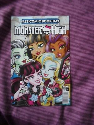 Free Comic Book Day 2017 MONSTER HIGH - New and unread