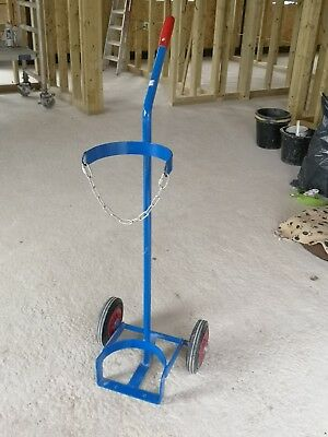 Oxygen Gas Cylinder Trolley