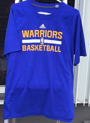 cadbbe5699bb Adidas Performance Ultimate Tee T Shirt NBA Golden State Warriors Mens L  Curry