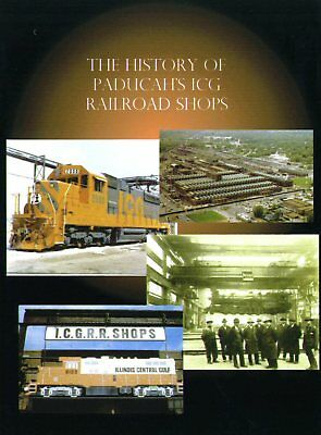 Illinois Central Paducah Shops History DVD - 1927-1986