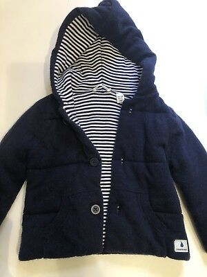 Country Road Baby Boys Navy Blue Jacket Size 18-24 Months