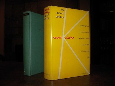 Kafka, Franz: The Penal Colony - FIRST EDITION IN DJ