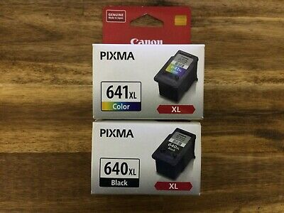 Canon 640XL and 641XL Combination Ink Pack