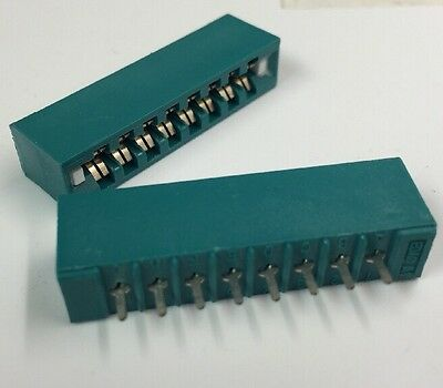 24 PK Card Edge Connector Stay-Put exact fit Circuitron TORTOISE Switch Machine