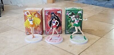 Sailor Venus Mars Jupiter Figures