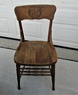 JUNG BREWING co. Milwaukee  PRE-PROHIBITION  SALOON CHAIR