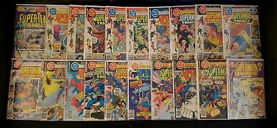 SUPERMAN FAMILY #180-211 (LOT OF 20 BRONZE AGE) w/ SUPER-TEAM #4