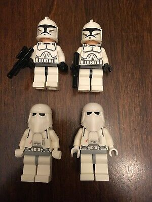 Lego Star Wars Storm Snow Trooper Lot Of 4