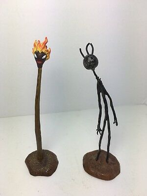 Limited Edition Tim Burton's Stick Boy and Match Girl Figures