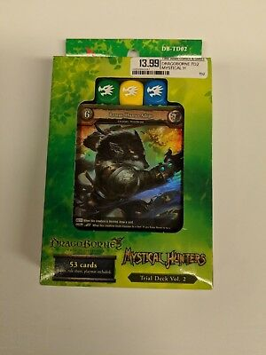 Bushiroad Dragoborne DB-TD02 Rise to Supremacy Mystical Hunters Trial Deck Vol 2