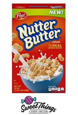 Nutter Butter 311g Cereal Post Extra items get free postage