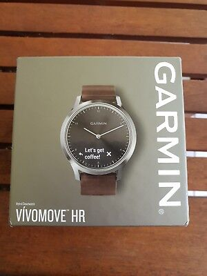 GARMIN VIVOMOVE HR Fitness Watch (Brand New) Unwanted Gift Hybrid Smartwatch