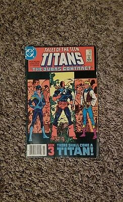 Tales of the Teen Titans 44 THE JUDAS CONTRACT