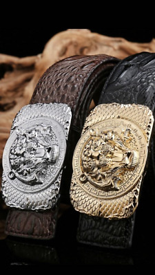 Tiger Ladies Designer Belts For Women Croc Leather Girls  Belt T H 7787  Belt