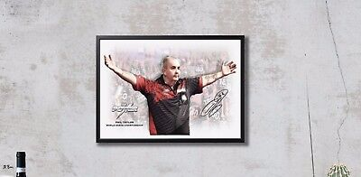 Phil Taylor - Darts - Autogramm - Final 2018 - THE VERY LAST GAME ! Kunst