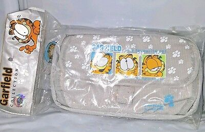 """NEW IN PACKAGE """"Garfield My Favorite Cat"""" Zippered Pouch Cosmetic bag"""