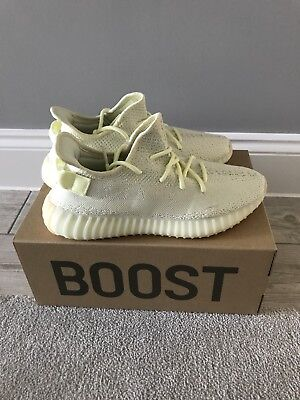 f375e8d667481 AUTHENTIC ADIDAS YEEZY Boost 350v2  butter  UK 9.5  new release ...