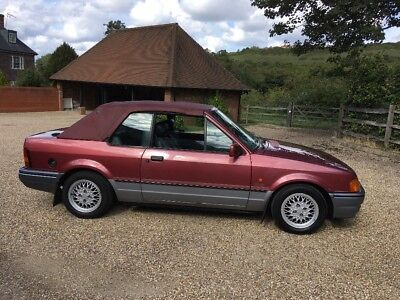 Totally original Xr3i  special Edition Convertible